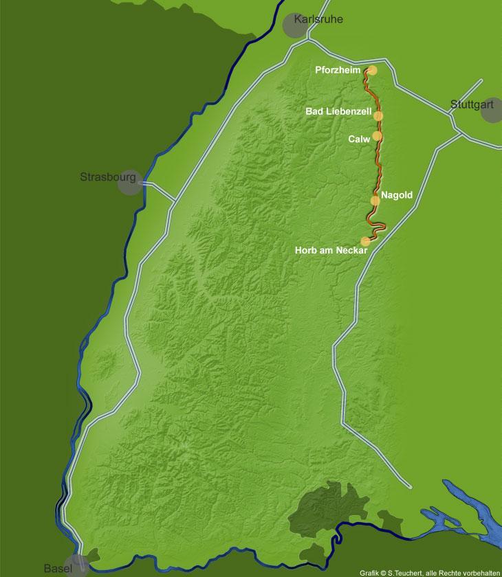 Nagoldtalbahn